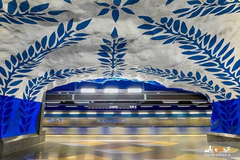 جذاب ترین ایستگاه های متروب دنیا، عکس