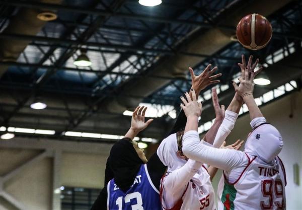 لیگ برتر بسکتبال بانوان، نارسینا به سکوی سوم نزدیک شد