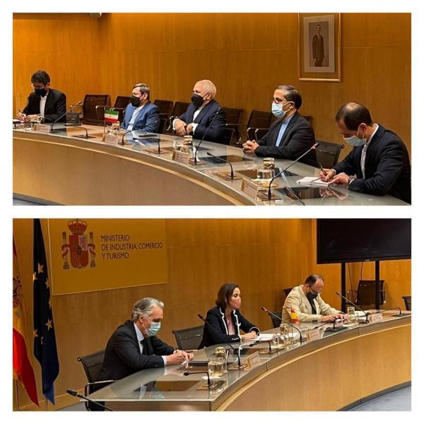 در ملاقات ظریف با وزیرصنعت اسپانیا چه گذشت؟